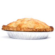 2 large Pies for £8.00 (800g)