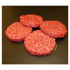 New Recipe Beef Burger 2 packs for £5 (800g)
