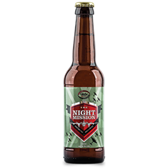 Night Mission Gluten Free Beer (330L)