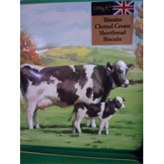 Biscuits - Grandma Wilds Embossed Cows Biscuit Tin (100g)