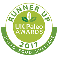 Paleo Awards Food Business Runner Up 2017